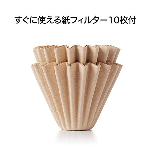 OXO ガラスコーヒードリッパー 2-4杯用 11207100 [2266]