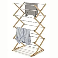Lakeland Concertina Airer with Aluminium Rungs - 6m of Drying Space