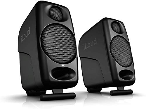 "IK Multimedia iLoud Micro Monitors ultra-compact 3"" studio monitors with bluetooth - IP-ILOUD-MM-IN"