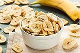 1001 Frucht leckere Bananenchips ohne Zucker 1000 g getrocknete Bananen mit Honig veredelt I geschmackvolle Bananen Chips Trockenfrüchte für Müsli oder als Snack I trockene Bananen als Trockenobst - 2
