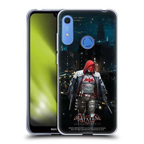 Head Case Designs Oficial Batman: Arkham Knight Capucha Roja Personajes Carcasa de Gel de Silicona Compatible con Huawei Y6 / Y6s (2019)