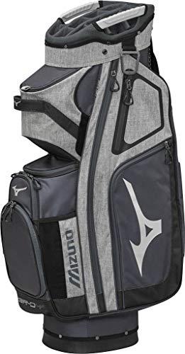 Mizuno BRD4C Sac de Golf Mixte Adulte, Noir/Blanc