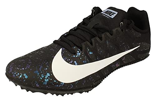 Nike Zoom Rival S 9, Zapatillas de Running Hombre, Black/White/Indigo Fog, 44 EU