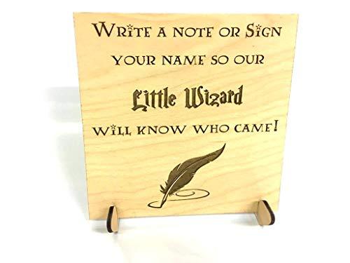 FSSS Ltd Harry Potter pequeño Asistente Libro de firmas Recuerdo Boda Regalo...