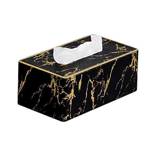 beizi Caja de pañuelos de papel de escritorio para toallas, contenedor de almacenamiento de servilletas, decoración para el hogar y la oficina (color 2)