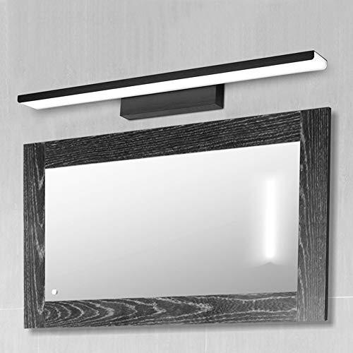 Eleyho Led-spiegellamp, spiegel met verlichting, spiegelkast, badkamer, led-spiegelverlichting voor badkamer, wastafel, slaapkamer