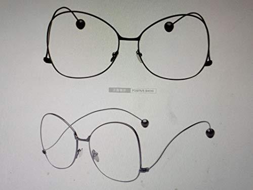 Gafas de Sol Gafas Transparentes Clásicas con Montura Dorada, Gafas De Sol Clásicas para Hombres Y Mujeres, Gafas Ópticas Uv400 para Aviación, Gris Cl