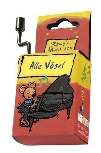 Fridolin 59029 Spieluhr Alle Vögel sind Schon da / Rizzy's Music-Box