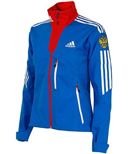 adidas Damen Softshell Jacke Outdoor Funktionsjacke Russland Russia (40)