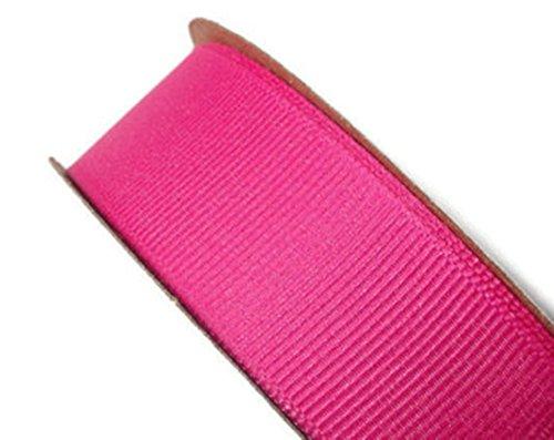 Ripsband 20mm x 10Meter wählen Sie aus vielen Farben–GCS London., fuchsia pink, 20 mm
