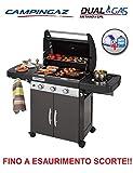 Campingaz Barbecue Dual Gas GPL TRASFORMABILE A METANO con OMOLOGAZIONE Modello...