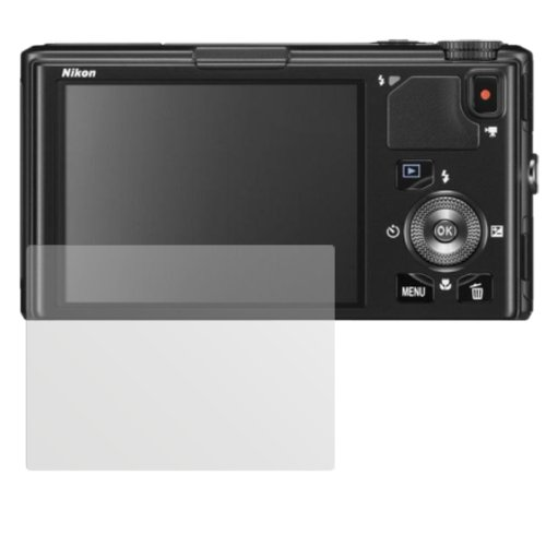 dipos I 6X Protector de Pantalla Mate Compatible con Nikon Coolpix S9500 pelicula...
