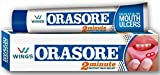WINGS BIOTECH. ORASORE Mouth Ulcer Gel Treatment. (Pack Of 6)
