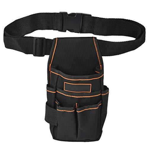 YANSHON Werkzeugtasche mit Gürtel, Werkzeug Gürteltasche, Mini Werkzeugtasche, Werkzeughalter, Multi-Purpose Werkzeug Organizer
