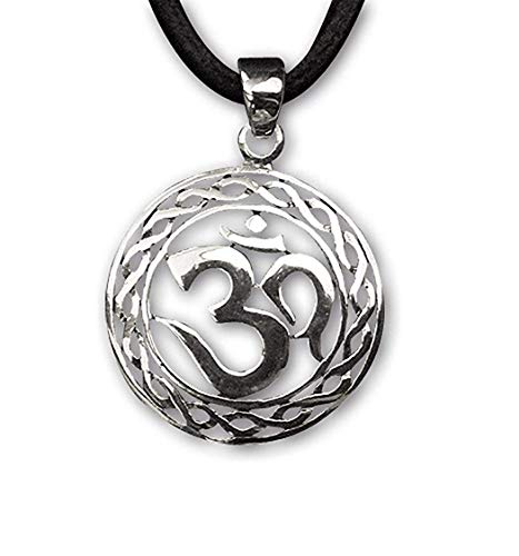 Om Anhänger Amulett Magischer 925er Silber Schmuck etNox 843