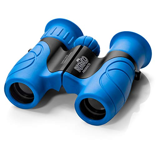 Playco Binoculars for Kids - 8X21 Optical Lens Ensures Maximum Clarity - Compact High Resolution Kids Binoculars for Boys and Girls - Camping, Hiking, Bird Watching and Outdoor Exploring