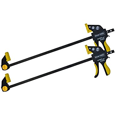 B&M TOOL Ratchet Bar Clamp and Spreader (18 Inch – 2 Pack)