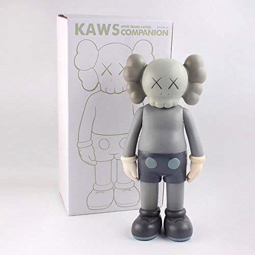 Prototyp KAWS Original gefälschte sezierte Begleiter Modell PVC Kunstspielzeug Actionfigur Sammlermodell Größe 20 cm für Home Decoration Party Geschenk