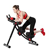 Fitlaya Fitness ab Machine, ab Workout Equipment for Home Gym, Height Adjustable ab Trainer,...