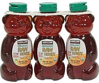 KIRKLAND カークランド Organic Raw Honey オーガニック ローハニー680g 有機 生ハチミツ(生はちみつ)3本セット