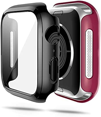 2 Pack Case for Apple Watch Series Se 6 5 4 40mm...