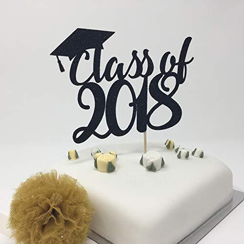Klasse van 2018 Cake Topper. Afstuderen Party Decor.