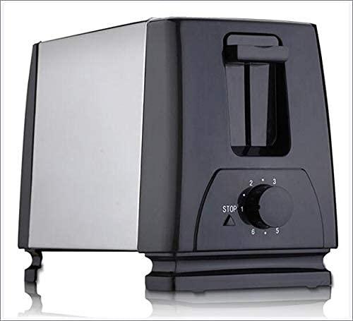 LITINGT Tostadora automática, tostadora con 2 Ranuras de Ancho Ancho para hasta 4 Discos, 6 peldaños de Seda con Rollo Caliente para Croissants, Bagels, 220 V