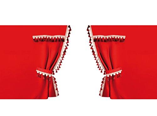 Lampa Guerrero perimétricas, Cortinas para Camiones, Cabina Normal Rojo
