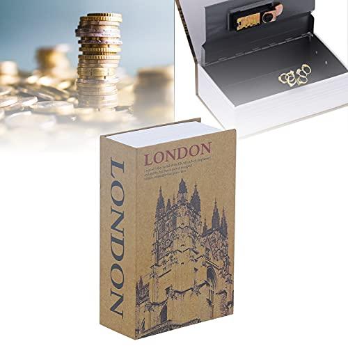 Folany Caja Fuerte para Libros, Almacenamiento de Dinero Multifuncional, Caja Duradera para desvío de Libros, Mini para Dinero para Documentos, Joyas para Tarjetas