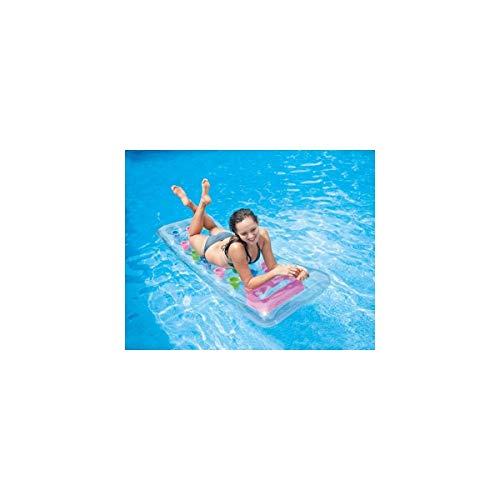 matelas transparent piscine