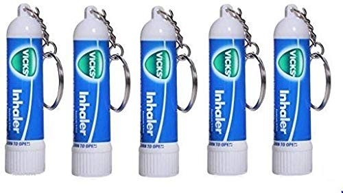 Inhaler for Quick Relief From Blocked Nose 0.5ml By Vicks ( Pack of 5)