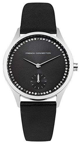 French Connection Damen-Armbanduhr Analog Quarz FC1272BB