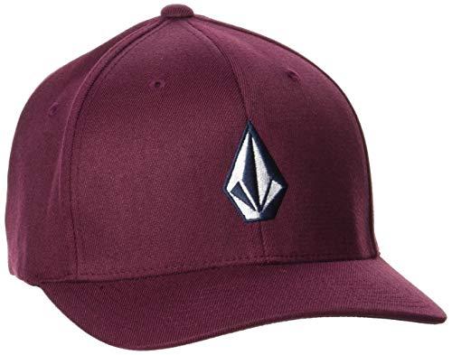 Volcom Herren Full Stone Xfit Baseball Cap, Dunkler Port, S/M