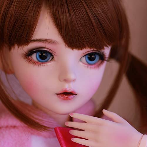 Anabei sd/bjd muñeca hecha a mano genuino cambio de gatito maquillaje de...