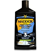 Maddox Detail - Allround Polish - Pulidor de un Solo Paso, Elimina Marcas Superficiales, abrillanta y protegela Pintura del Coche.