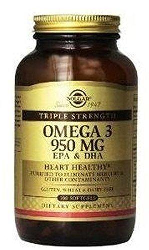 Omega 3Triple Concentracion 50Capsules Soft Solgar