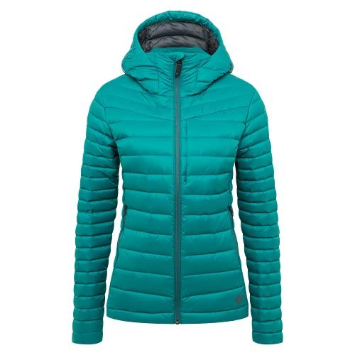 Black Diamond Equipamiento - Sudadera con capucha para mujer, color pino marino