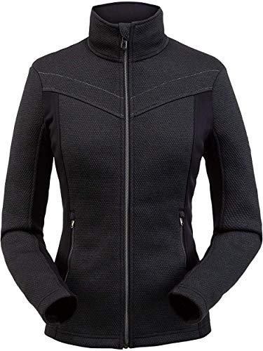 Spyder Damen Encore Full Zip Fleece-Jacke, Black, XL