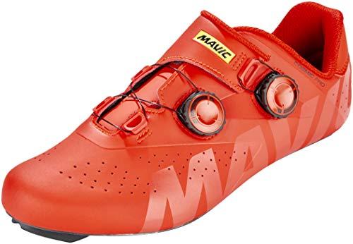 Mavic Cosmic Pro - Zapatillas - Rojo Talla del Calzado UK 10,5 / EU 45 1/3 2019
