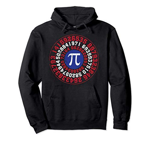 Superhero Captain Pi Funny Math Lover Gift Men Women Kids Pullover Hoodie