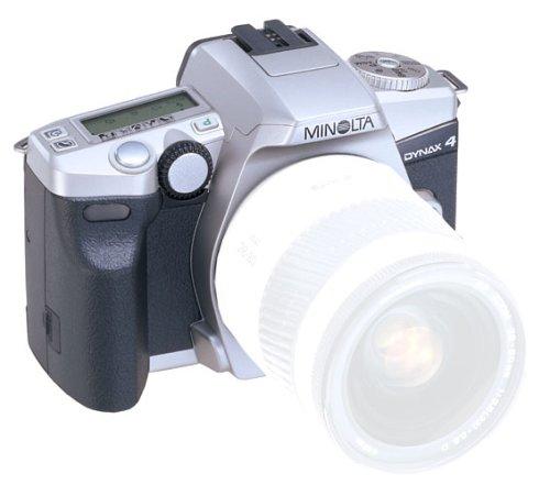 Minolta Dynax 4 Spiegelreflexkamera (nur Gehäuse) mit Lithium Batterien