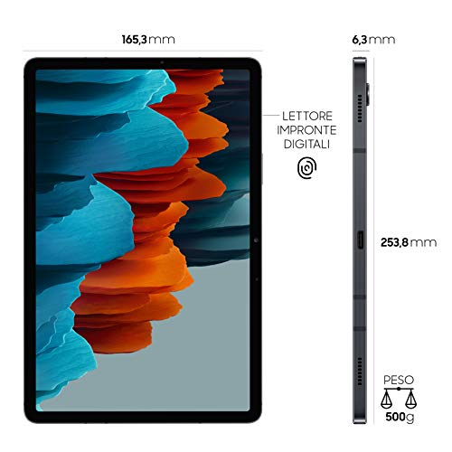 Samsung Galaxy Tab S7 Tablet S Pen, Snapdragon 865 Plus, Display 11.0