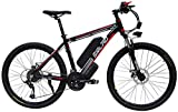 Electric Bike Electric Mountain Bike 1000W Electric Mountain Bike for Adults, 27 Speed Gear E-Bike with 48V 15AH Lithium Battery - Professional Offroad Commute Bicycle for Men and Women for the jungle