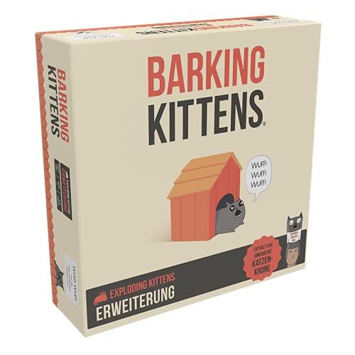 Asmodee Exploding Kittens - Barking Kittens,...