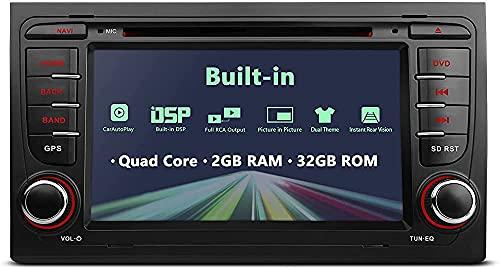 Fringe Trim HD Touchs Screen Unit Unit Dash CAM, Coche Estéreo Auto Radio DVD Player GPS Navege Cabet Unidad Apoyo Bluetooth WiFi