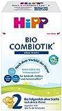Hipp Bio Milchnahrung 2 Combiotik ohne Stärke, 4er Pack (4 x 600 g)