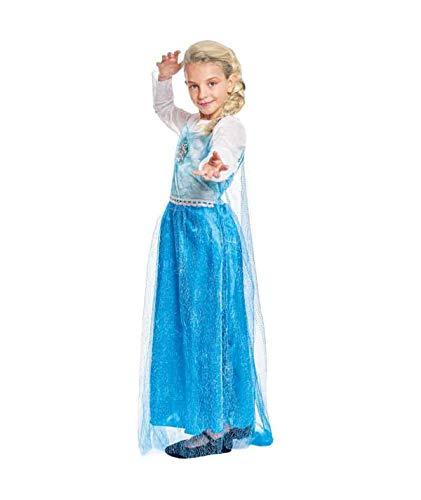 Partylandia Disfraz de Super Girl para niña Carnaval Cosplay Cómodo Suave 10-12 Años