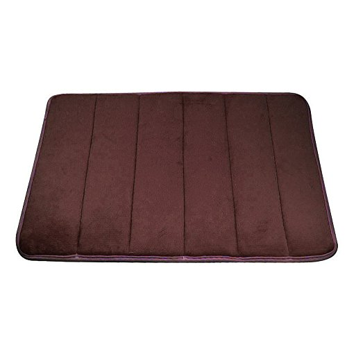 Best Review Of Berryhot Memory Foam Bath Rug Cushioned, Soft Floor Mats, Absorbent Children's Bathro...