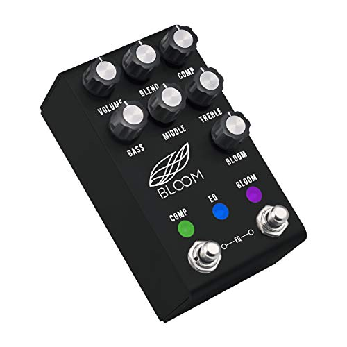Jackson Audio Bloom V2 Dynamic Engine Guitar Effects Pedal, Anodized Black, (BLOOMV2),Medium
