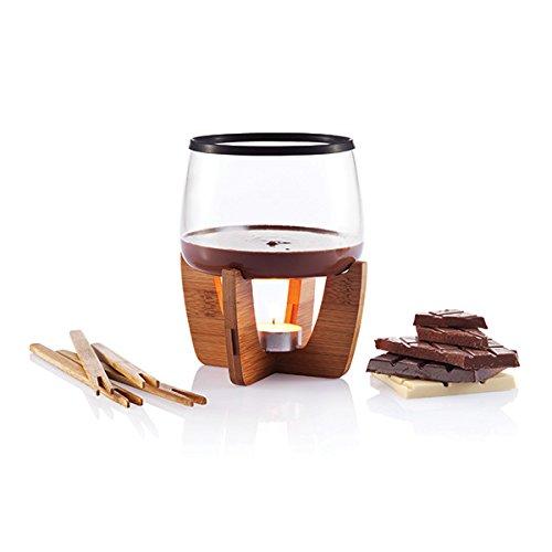 XD Design P263.201 Cocoa chocoladefondue set voor 4 personen